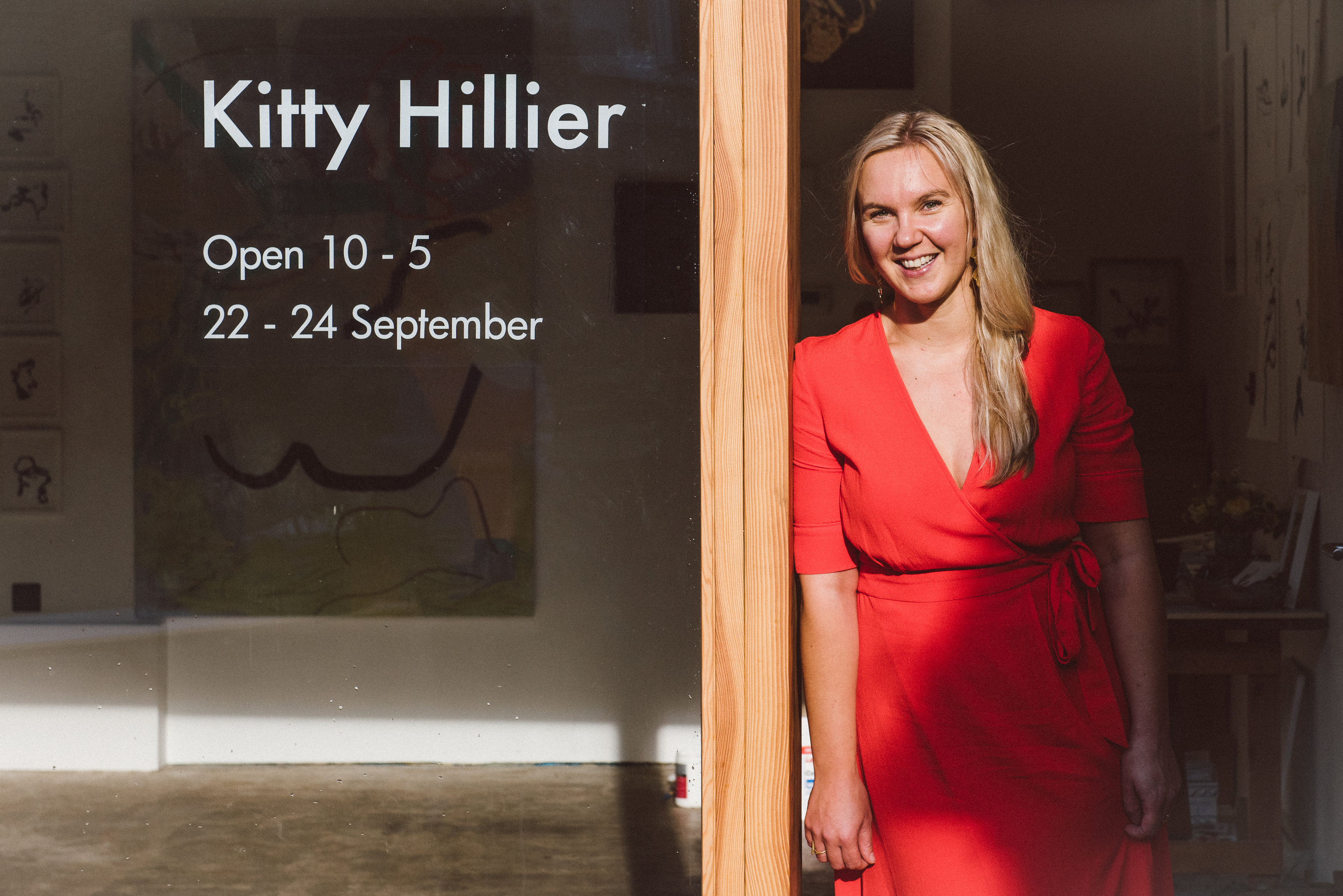 Kitty Hillier Artist Portrait